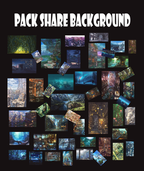 Pack share background by Ikthex