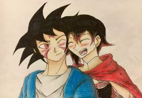 Art Trade: Arashi and Ruby (Complete) by VorticalFiveStudios