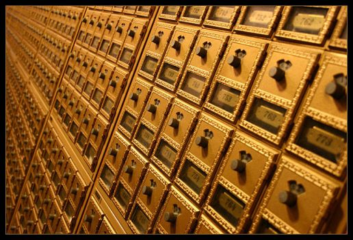 Vintage Mailboxes by tyt2000