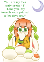 FP: Milla And Her Nails by THEVV1LDVV0LF