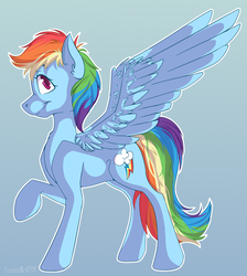 Rainbow Dash by SonaArtist