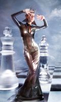 Evil Chess queen magic by FueledbypartII