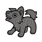 pupper lineart P2U - $1 or 100 points! by thekingtheory