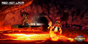 Super Metroid Memories - Red Hot Lava by Hyde209