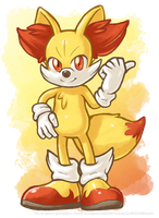 Fennekin the Firefox by spoonyliger