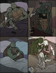 Two to a Bed by R2ninjaturtle