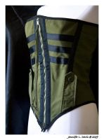 Military Corset by morbidtruth