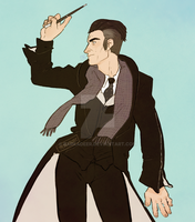 Percival Graves by barkadeer