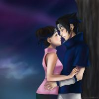 Request for Sasuke4Tenten by Sessie
