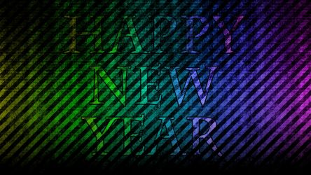 happy new year wallapaper by samstifler