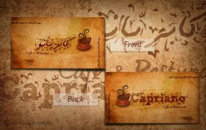 Capriano cafe -card by AndrewHeSham