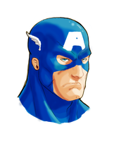 Capt. America Test by RAHeight2002-2012