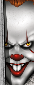 IT Pennywise by Mrs-Oniria