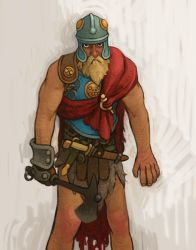 Barbarian Guy by atomicman
