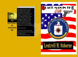Black Man in the CIA - Book Cover by garyrevel
