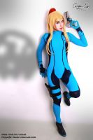 Samus Aran 1 by DarkTifaStrife