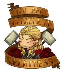 thor says you are worthy by buckybbarnes