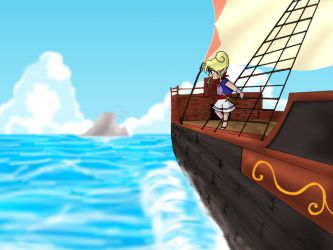 Tetra Sailing Wallpaper by TheHeroine