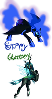 Envy and Gluttony by TwitchyGears