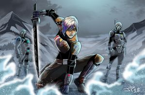 Star Wars Rebels Sabine Wren by JonathanPiccini-JP