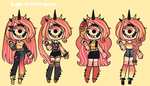 Outfit set - Two by hello-planet-chan