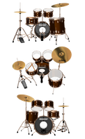 [MMD] Ludwig Zildjian Drum (DL) by arisumatio