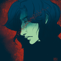 Kylo Ren by Le-Ashe