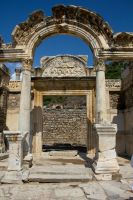 The Temple of Hadrian by Sockrattes