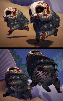 Zombie pets by Syncrasis