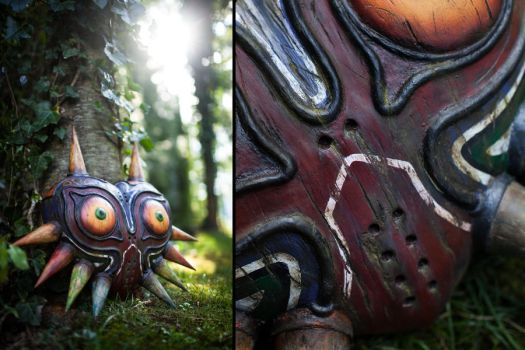 Majora's Mask - Wooden Replica by ThePropBox