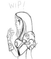 Sylvanas: WIP by Sithis666