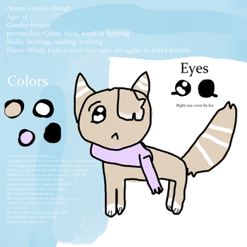 Cookie dough Reference Sheet by ShockLikeThunder
