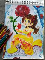 beauty and the beast by MANTHANART