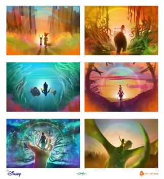 Disney Collectictible Tickets by AndyFairhurst