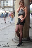 With Anna in the city 11 by PhotographyThomasKru