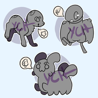 Variety of YCHs! [CLOSED for now] by Jackalune