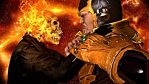 Ghost Rider vs Thanos by GothicGamerXIV