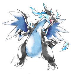 Mega Charizard X - Old S. Style by Tomycase