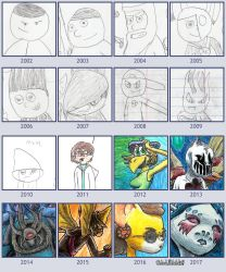 A Look at the Artist Over the Years by OhLookItsAnArtist