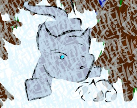 in the cold by Bluestar1991