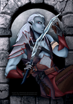 Drow - Coloured by sojourney