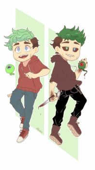 Youtubers : Dual personality by pacaora
