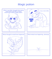 Magic potion by SmokyJack