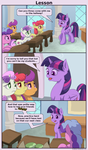 Lesson by FrenkieArt