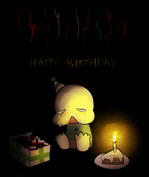 happy birthday, petscop by Commandersnacks
