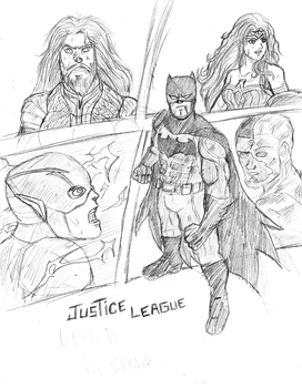 Justice League by BL-Sama