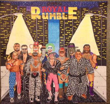 1994 Royal Rumble by bmogav