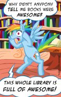 Books Are Awesome by TexasUberAlles