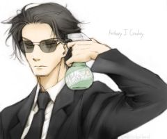 GO: Anthony J. Crowley by noxcape