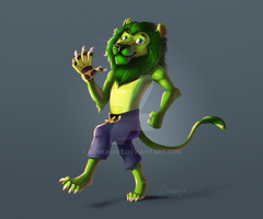 oh hai WeedLion here (now with video!!!) by BonkiHart